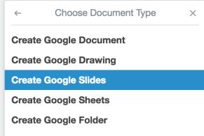 Google Choices